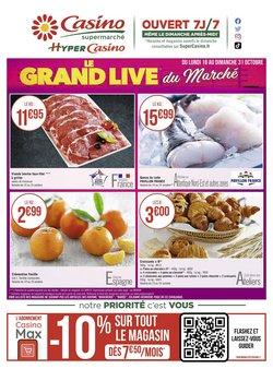 Promos de Casino Supermarchés dans le prospectus à Casino Supermarchés ( 8 jours de plus)