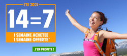 Montagne Vacances coupon à Nice ( 5 jours de plus )