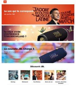 Promos de Multimédia et Électroménager dans le prospectus à JBL ( Expire ce jour)