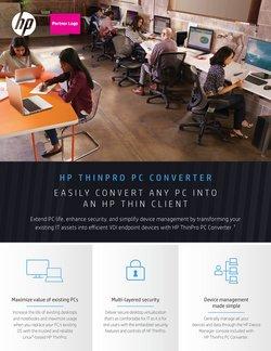 Promos de HP dans le prospectus à HP ( Plus d'un mois)