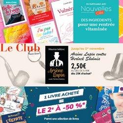 Promos de Voyages dans le prospectus à France Loisirs Vacances ( 9 jours de plus)