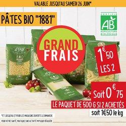 Promos de Hyper-Supermarchés dans le prospectus à Grand Frais ( 3 jours de plus)