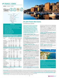 Promos de Voyages en France dans le prospectus de National Tours à Noisy-le-Sec