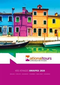National Tours coupon ( Expiré )