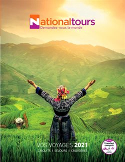 National Tours coupon ( Plus d'un mois )