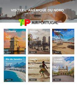 Promos de Voyages dans le prospectus de TAP à Lyon ( Plus d'un mois )
