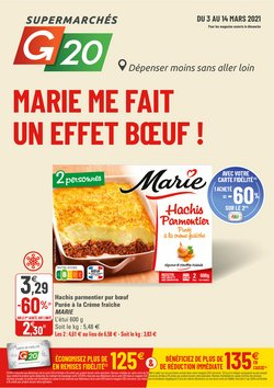 G20 coupon ( Il y a 3 jours )