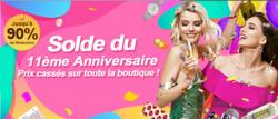 Promos de MiniInTheBox dans le prospectus à Paris
