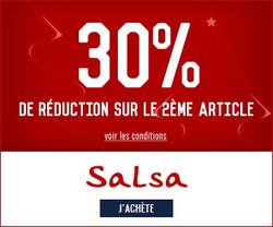 Promos de Salsa dans le prospectus à Paris