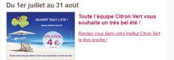 Promos de Citron Vert dans le prospectus à Lyon