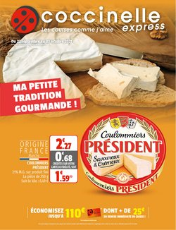 Promos de Coccinelle Express dans le prospectus à Coccinelle Express ( Publié hier)