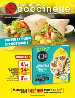 Promos de Coccinelle Supermarché dans le prospectus à Coccinelle Supermarché ( 7 jours de plus)