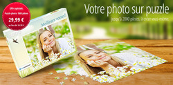 Coupon Mon puzzle Photo ( Plus d'un mois )