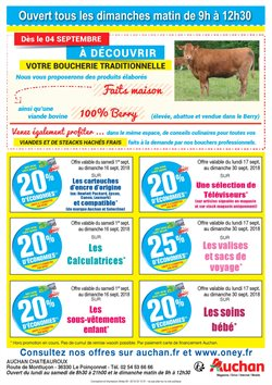 Promos de Calculatrice dans le prospectus de Auchan Direct à Paris