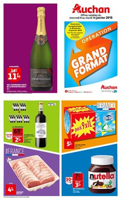 Tract grand format + soldes