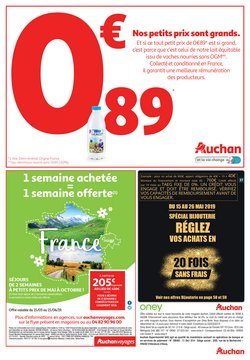 Promos de Voyages en Europe dans le prospectus de Auchan Direct à Paris