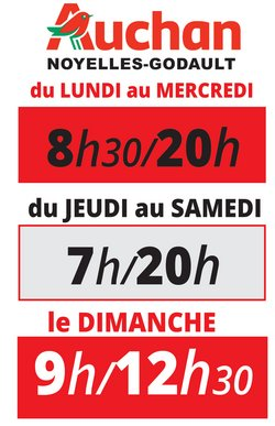 horaires magasin