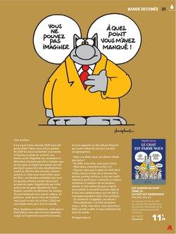 Le chat à Auchan Direct