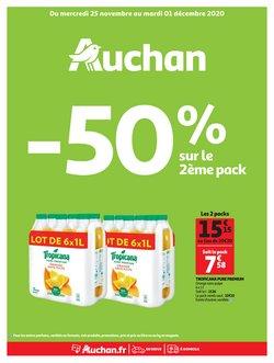 Promos de Hyper-Supermarchés dans le prospectus de Auchan Direct à Toulouse ( Publié hier )