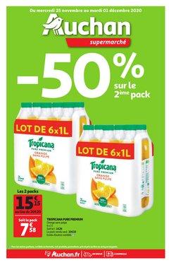 Promos de Hyper-Supermarchés dans le prospectus de Auchan Direct à Nîmes ( Publié hier )