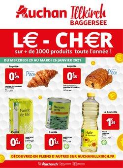 Promos de Hyper-Supermarchés dans le prospectus de Auchan Direct à Fréjus ( Expire demain )