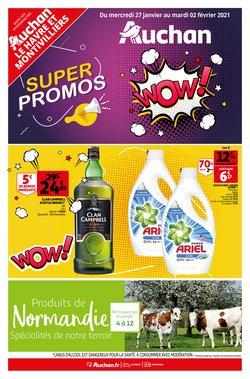 Promos de Hyper-Supermarchés dans le prospectus de Auchan Direct à Brest ( Il y a 2 jours )