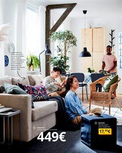 Canapé convertible à IKEA