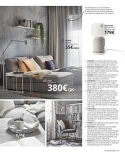 Canapé tissu à IKEA