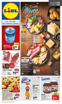 Promos de Hyper-Supermarchés dans le prospectus de Lidl à Fréjus ( Nouveau )
