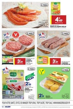Promos de Hyper-Supermarchés dans le prospectus à Aldi ( 2 jours de plus )