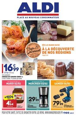 Promos de Hyper-Supermarchés dans le prospectus de Aldi à Fréjus ( Publié hier )