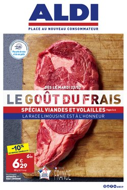 Promos de Hyper-Supermarchés dans le prospectus de Aldi à Nice ( Expire ce jour )