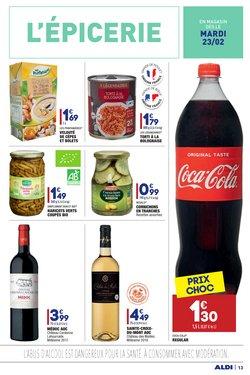 Coca-cola à Aldi