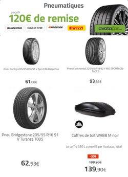 Dunlop à AvataCar