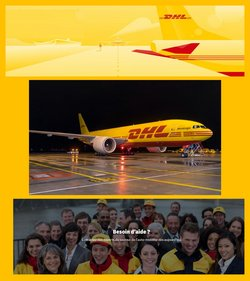 Promos de Services dans le prospectus à DHL ( Plus d'un mois)