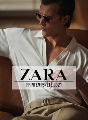 ZARA HOMME Campaign Printemps/Été  2021