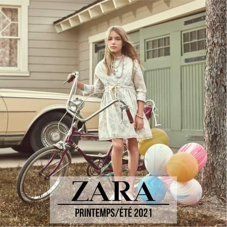 ZARA ENFANTS Campaign Printemps/Été 2021