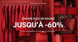 Promos de H&M dans le prospectus à Paris