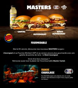 Burger King coupon ( 10 jours de plus )