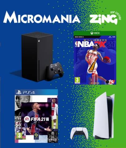Nouveautés Micromania