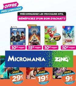 Promos de Multimédia et Électroménager dans le prospectus à Micromania ( 4 jours de plus)
