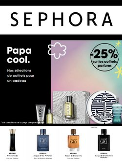 Promos de Sephora dans le prospectus à Sephora ( Expire demain)