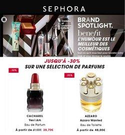 Sephora coupon ( 2 jours de plus)