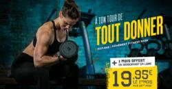 Promos de Fitness Park dans le prospectus à Grenoble