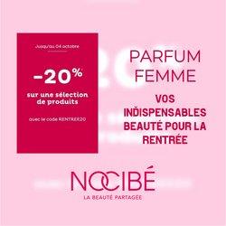 Promos de Parfumeries et Beauté dans le prospectus à Nocibé ( Expire ce jour)