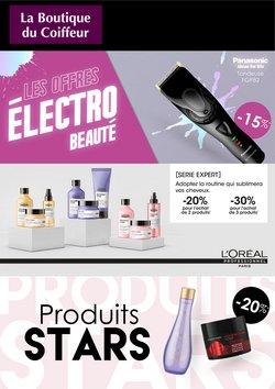 Promos de Parfumeries et Beauté dans le prospectus à La Boutique du Coiffeur ( 3 jours de plus)