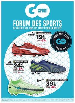 Promos de Sport dans le prospectus à GO Sport ( 2 jours de plus)