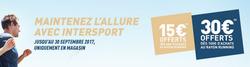 Promos de Intersport dans le prospectus à Les Menuires