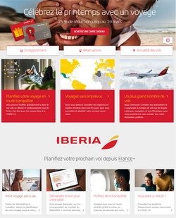 Iberia coupon ( 3 jours de plus )