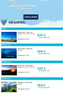 Air Austral coupon ( 8 jours de plus )